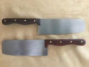 Handcrafted Santoku kitchen knives