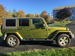2008 Jeep Wrangler Sahara Unlimited  SUV, Crossover