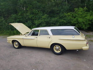 1962 PLYMOUTH BELEVEDERE WAGON