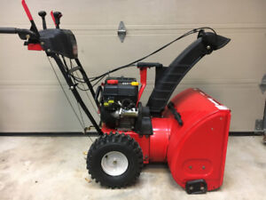 """26"""" Snow Thrower, Two Stage Long Chute MTD Blower"""