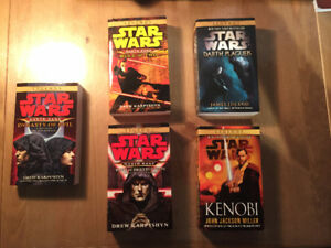 Star Wars Books (50$ value on amazon.ca) *NEVER USED*