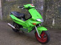 2005 Gilera Runner Vx Vxr 125cc 210cc kit learner legal 125 cc. 1 years MOT.