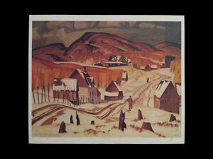 """A.J. Casson """"Early Snow"""" Lithograph - Appraised at $800 London Ontario image 5"""