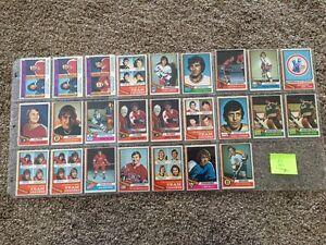 O-Pee-Chee 1974-1975 Hockey Cards