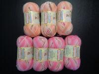 Crazy Yarn De-Stash!!!  Part 13: Baby & frilly scarf yarns