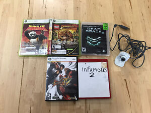 Xbox Live Vision and 5 Games - PS3, Windows, Xbox
