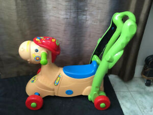 Vtech Plastic Rocking Horse for Toddlers 2-in-1 Smart Ride-on Ro
