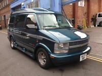 Chevrolet Astro Gmc 4.3 Safari Day Van 4WD 4x4 Electric Bed Mvp 7Seater