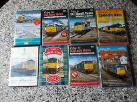 Cabride train dvd's