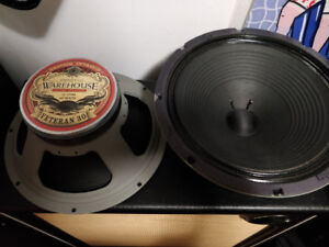 REDUCED!!! 3 WGS Veteran 30's (2X8 ohm, and 1X16 ohm) for sale.