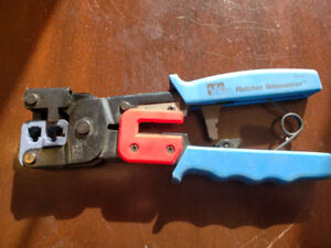 Ideal Cable Crimpers -Ratchet Telemaster