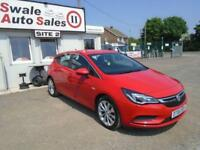 2016 VAUXHALL ASTRA 1.4 TECH LINE S/S - 16,149 MILES - AUTOMATIC - LOW MILEAGE