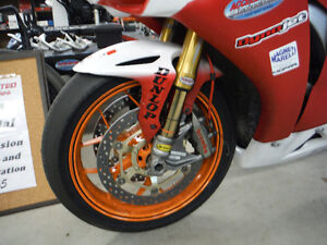 #1 plated Factory Honda Superbike.  CSBK Champion 2014 Kawartha Lakes Peterborough Area image 3