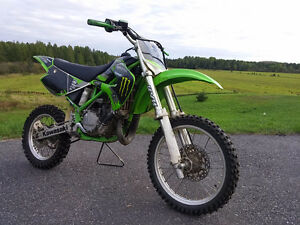 Great 2-stroke dirt bike - 2003 Kawasaki KX85 - $1800 - dirtbike