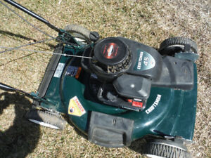 --   22 in.  --  self - propelled - craftsman lawnmower