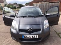 Toyota Yaris 1.33 petrol 5 door 2009