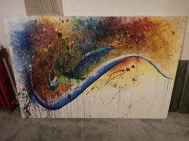 Painting Artwork Canvas