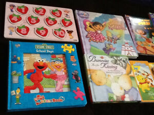 Kids books and puzzles