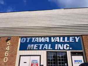 Sheet metal roofing and siding, flashing, trim, chimney caps ect