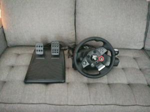Logitech Driving Force GT wheel PS3
