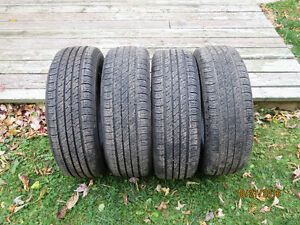 Four 195/65/R15 tires in excellent shape