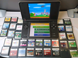 DS XL 35+ Games and charger...