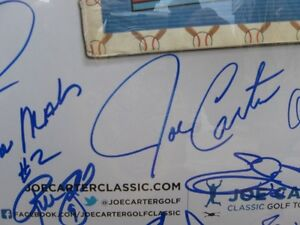 Golf Poster Signed by Wayne Gretzky plus Many More Greats Kitchener / Waterloo Kitchener Area image 2