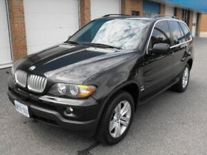 2005 BMW X5 LOADED  SUNROOF  V8  NO ACCIDENTS VERY CLEAN