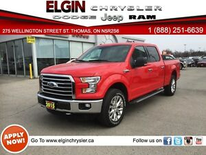2015 Ford F-150 XLT***Navi, B-up Camera, SuperCrew Cab***