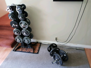 Home Gym Free weight set