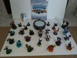 1st GEN SKYLANDERS WITH PORTAL AND BOOK - GENTLY USED