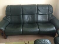 Stressless ekornes recliner sofa. Possible delivery