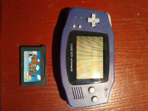 Gameboy Advance bleu indigo
