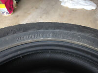 4 Goodyear Nordic Winter Tires, no rims 195/65 15