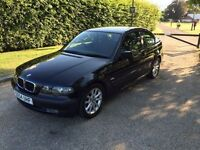 BMW 316 Ti SE 2005 IN STUNNING BLACK 1 YEARS MOT,WITH FULL HISTORY DRIVES THE BEST