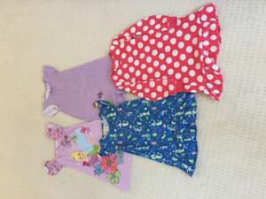 Girls Disney nighties and other 5/6 pjs