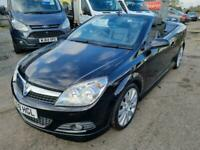 2009 Vauxhall Astra ASTRA TWINTOP EXC BLACK Convertible Petrol Manual