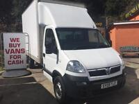 2009 09 VAUXHALL MOVANO 2.5CDTI 16v ( 120ps ) LWB 3500 TAIL-LIFT