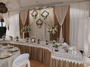 Wedding Decor Rentals, Chair Covers, Backdrops, Arches Etc. Prince George British Columbia image 1