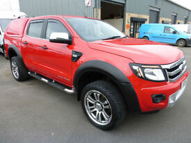 2014 Ford Ranger 3.2 TDCi 200PS 4x4 Double Cab LIMITED, HUGE SPEC, FSH, STUNNING