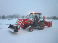 2011 Kioti DK45SE with Heated Cab & Front Loader!
