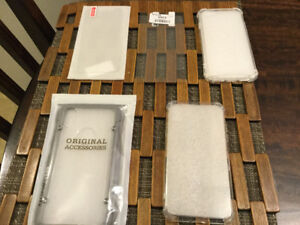 IPhone X cases and screen protector