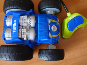 TONKA Chuck And Friends FLIP The Bounce Back RACER R/C 2 Sided R