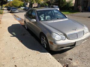 Mercedes C320 2003 V6 4WD