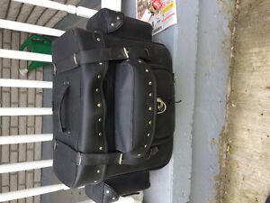 Saddlebag and motorcycle cover