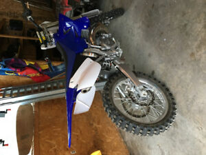 YZ 250 forsale/trade for snowmobile.