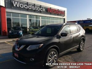 2015 Nissan Rogue SL  - Sunroof -  Leather Seats - $159.59 B/W