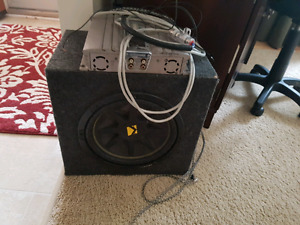 Subwoofer  for auto