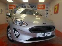 2018 Ford Fiesta ZETEC(ONLY 10268 MILES)(SAT NAV) FREE MOTS AS LONG AS YOU OWN T