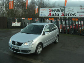 2008 VOLKSWAGEN POLO MATCH 1.2L ONLY 59,921 MILES, FULL SERVICE HISTORY
